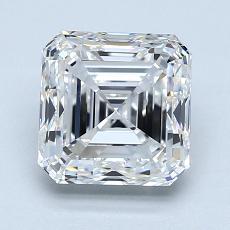 推薦鑽石 #1: 2.01 Carat Asscher Cut