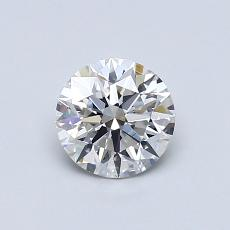 0.70 Carat Redondo Diamond Ideal F VS1