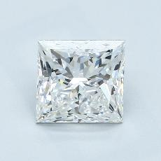 2.03-Carat Princess Diamond Very Good E VS1