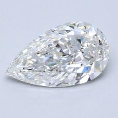 Current Stone: 1.01-Carat Pear Shaped
