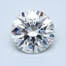 1,21 Carat Rond Diamond Idéale H SI1
