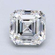 推薦鑽石 #3: 2.43 Carat Asscher Cut