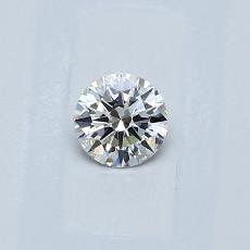 0.23-Carat Round Diamond Ideal G VS1