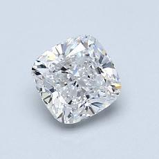 推薦鑽石 #4: 0.91 克拉墊形切割