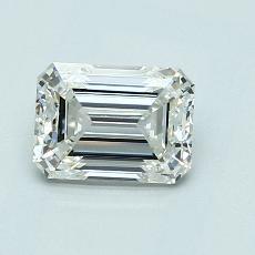1.01-Carat Emerald Diamond Very Good J VS1