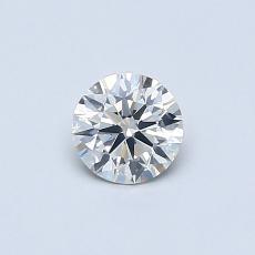 推薦鑽石 #3: 0.38  克拉圓形切割