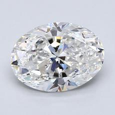 1.59-Carat Oval Diamond Very Good E VS2