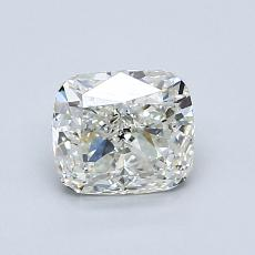1.00-Carat Cushion Diamond Very Good J SI2