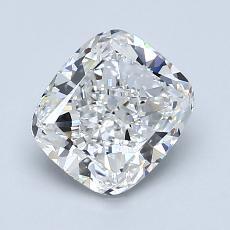 1.70-Carat Cushion Diamond Very Good F VS1