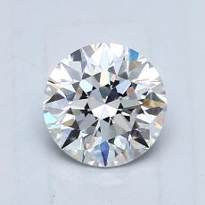 0.75-Carat Round Diamond Ideal E VVS2