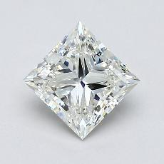 Recommended Stone #1: 0,90-Carat Princess Cut