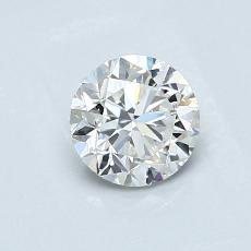 0.70-Carat Round Diamond Good G VS2