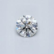 0.31-Carat Round Diamond Ideal G VS2