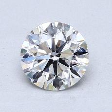 1.00-Carat Round Diamond Ideal E VS1