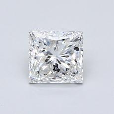 Current Stone: 0.80-Carat Princess Cut
