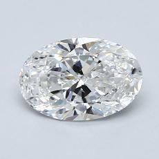 1.00-Carat Oval Diamond Very Good E VS2