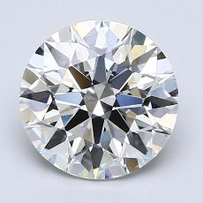 Recommended Stone #4: 2.16-Carat Round Cut