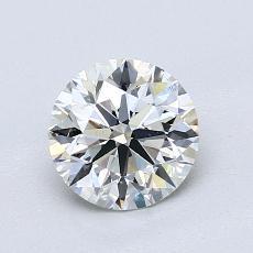 推荐宝石 3:1.05 克拉圆形切割