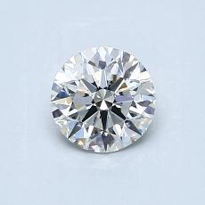 Piedra recomendada 1: Talla redonda de 0.60 quilates