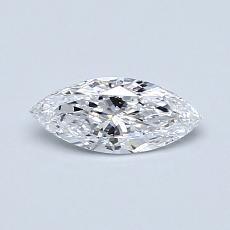 0.35-Carat Marquise Diamond Very Good D VS1