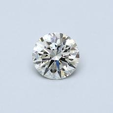 Recommended Stone #1: 0.35-Carat Round Cut