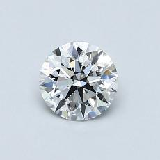 Recommended Stone #2: 0,57-Carat Round Cut