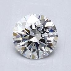 1,01 Carat Rond Diamond Idéale F VVS2