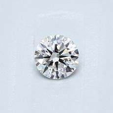 Recommended Stone #3: 0.30-Carat Round Cut