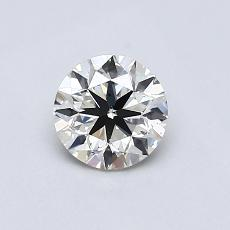 Recommended Stone #3: 0.63-Carat Round Cut