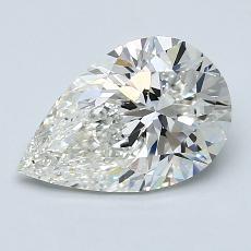 1.70-Carat Pear Diamond Very Good H VS2