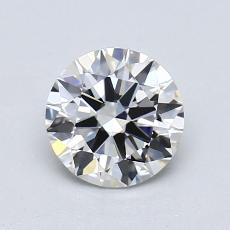 1.00 Carat 圓形 Diamond 理想 H VVS2