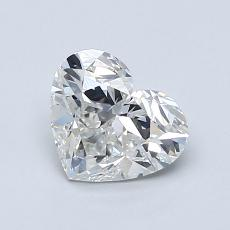 Recommended Stone #4: 1.00-Carat Heart Shaped