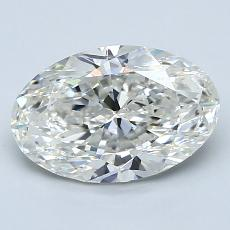 Recommended Stone #4: 2.00-Carat Oval Cut