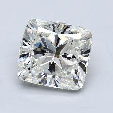 2,50 Carat Coussin Diamond Très bonne I VS1