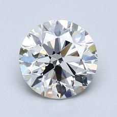 1.51 Carat 圆形 Diamond 理想 H VS2