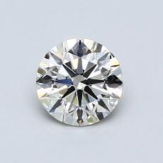 0,70 Carat Rond Diamond Idéale K VS2