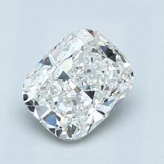 1.03 Carat 垫形 Diamond 非常好 E VVS2