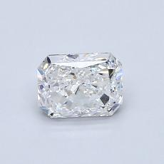Recommended Stone #2: 0.70-Carat Radiant Cut