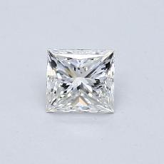 0.50 Carat 公主方形 Diamond 非常好 G VS2