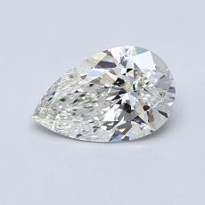 0.70 Carat 梨形 Diamond 非常好 H IF