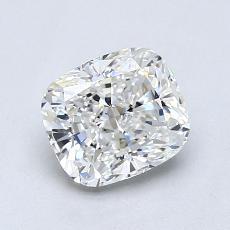 推薦鑽石 #2: 1.01 克拉墊形切割