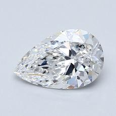 Recommended Stone #1: 0.91-Carat Pear Shaped