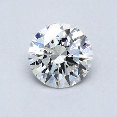 Recommended Stone #2: 0,63-Carat Round Cut