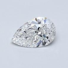 Recommended Stone #1: 0.58-Carat Pear Cut Diamond