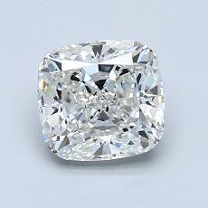 1.50-Carat Cushion Diamond Very Good H VVS2