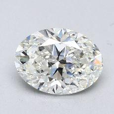 1.51-Carat Oval Diamond Very Good I VS1