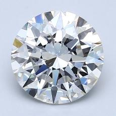 Recommended Stone #2: 2.56-Carat Round Cut