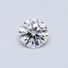 0,40 Carat Rond Diamond Idéale Astor F VVS2