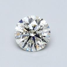 0.77 Carat 圓形 Diamond 理想 I VS2