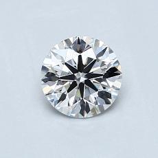 推荐宝石 3:0.60 克拉圆形 Cut